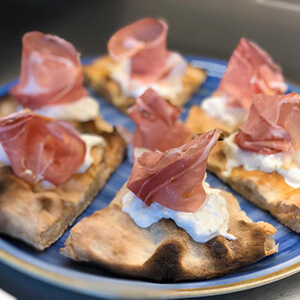 Pizza La Sgambata S'Crock de La Cotta